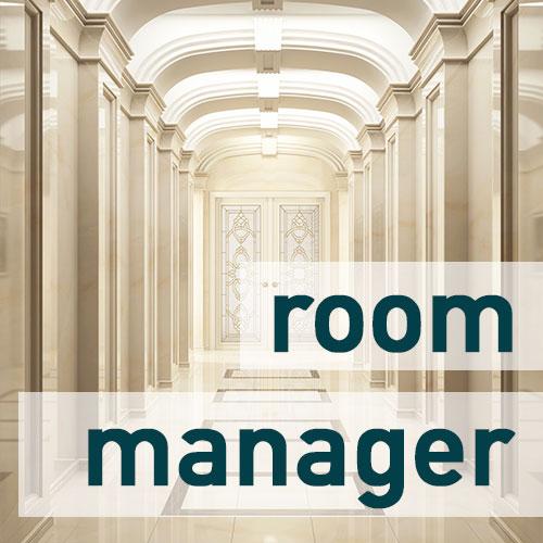 digitale Beschriftung, Hotel, Besprechungsraum